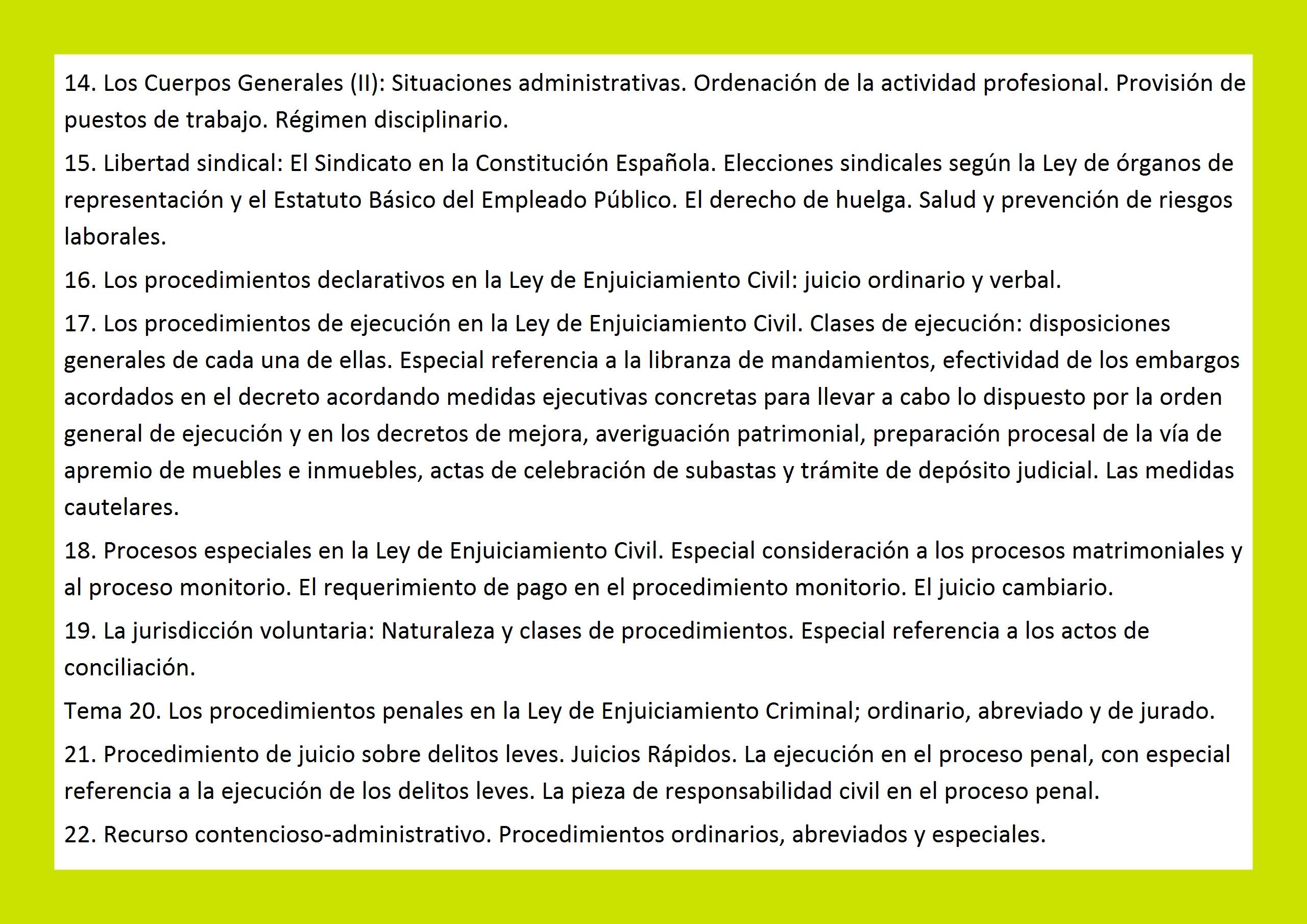 estudiar oposicion procesal administrativa alcala